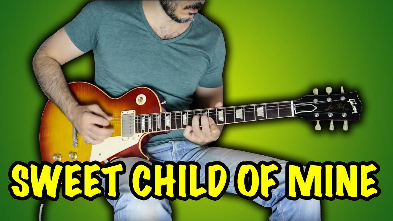 Guns N' Roses – Sweet Child O' Mine – Electric Guitar Cover by Kfir Ochaion