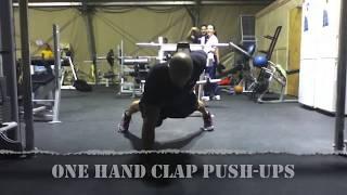 Tak się robi prawdziwe pompki! Pokaz ekstremalnych technik ćwiczeń!