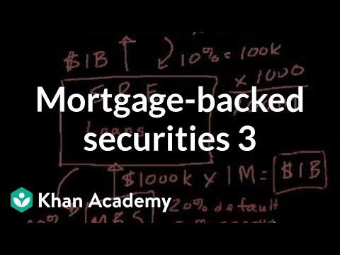 Mortgage-backed securities III | Finance & Capital Markets | Khan Academy