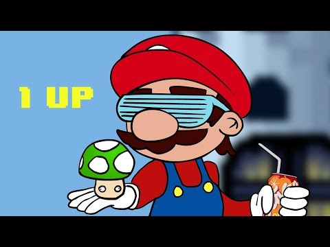 1 Up! ~~ Mario song ~ Rucka Rucka Ali (видео)