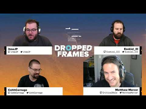 Dropped Frames - Week 168 - Mercer & Voice Acting (Part 1)