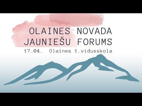 OLAINES NOVADA JAUNIEŠU FORUMS
