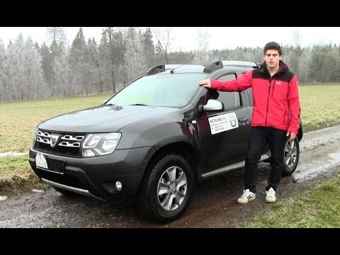 Test Dacia Duster 1,5 dCi 4×4 2013