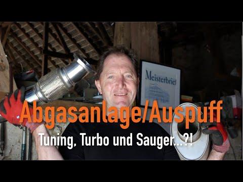 Abgasanlage/Auspuff - Tuning, Turbo und Sauger...?! Erklärt vom Kfz Meister