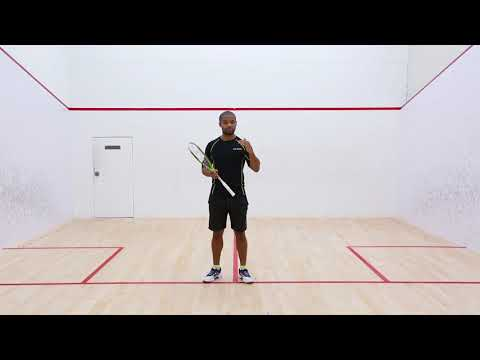 Squash tips: Movement off the ball with Adrian Grant!
