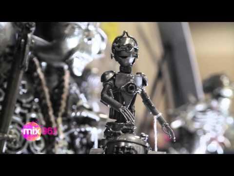(WATCH) Wizard World 2014: Metal Art X