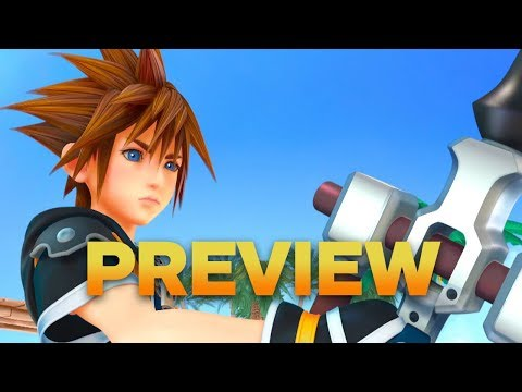 Kingdom Hearts 3 Hands-On Preview (видео)