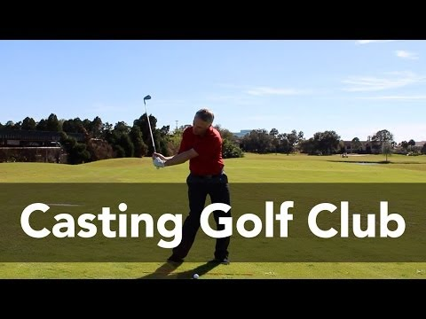 How to Stop Casting the Golf Club | Golf Instruction | My Golf Tutor