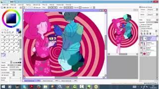 Download Lagu .Bubble gum and Marceline - Speedpaint Mp3
