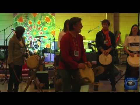 Tom Wolf Drum Circle 10min Part 1