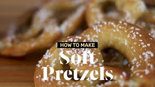 How to Make Soft Pretzels at Home