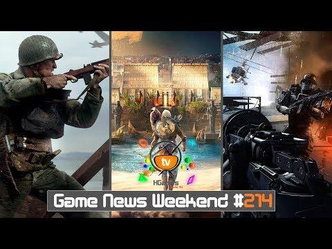 Игровые Новости — Game News Weekend #214 | (Assassin's Creed Origins, CoD WW2, Dragon Age 5)