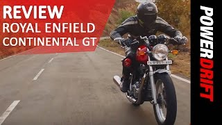 5. Royal Enfield Continental GT Review: PowerDrift