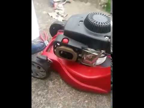 Mountfield 4 stoke petrol mover starts and stops, any thought? (видео)