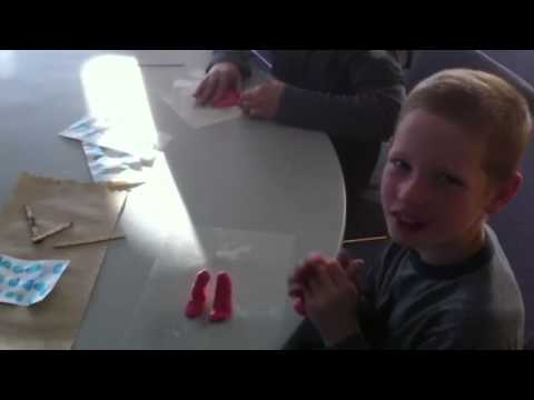 Sculptures in gifted class