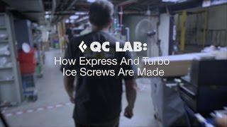 QC Lab – How Black Diamond Ice Screws Are Made by Black Diamond Equipment