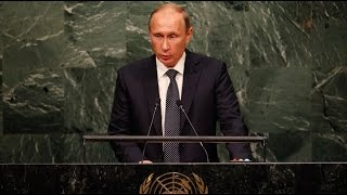 'Do you realise what you've done?' Putin addresses UNGA 2015 (FULL SPEECH)