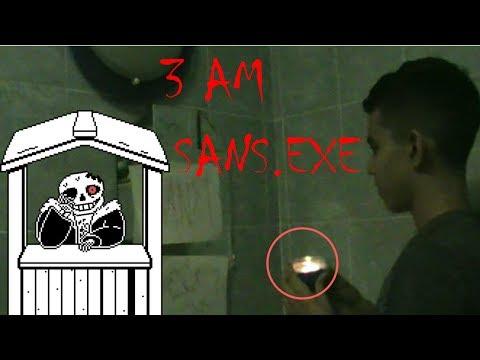 INVOCANDO A SANS.EXE EN LA CASA DEL PSICOPATA!!!-Reto 3 AM!