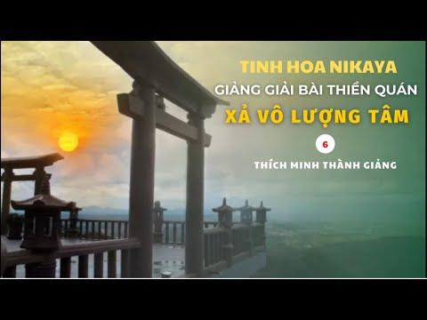 Tinh Hoa NIKAYA - Giảng Giải Bài Thiền Quán - Xả Vô Lượng Tâm 6