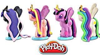 Video Play doh MY LITTLE PONY Make N' Style Ponies #3 | Princess Celestia, Luna, Twilight Sparkle, Cadance MP3, 3GP, MP4, WEBM, AVI, FLV Oktober 2018
