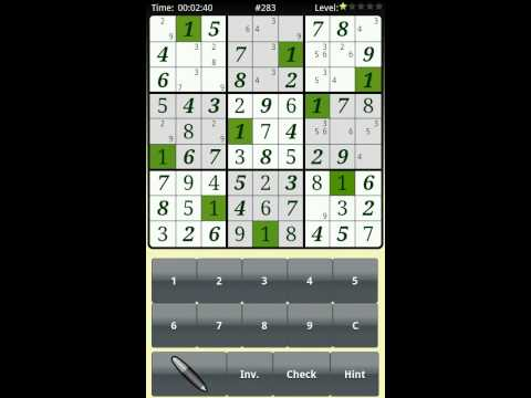 Video of Sudoku Brainiak Free