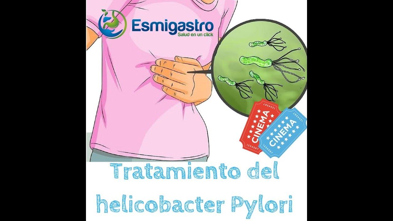 Tratamiento del helicobacter pylori