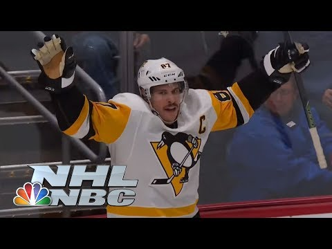 Video: Sidney Crosby's natural hat trick against Colorado Avalanche | NHL | NBC Sports