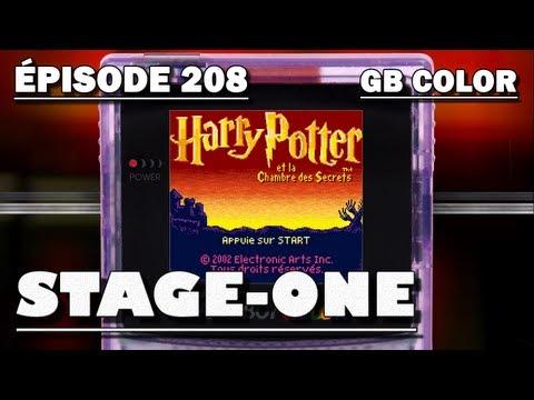 harry potter et la chambre des secrets game boy color carte