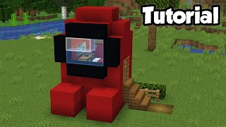 Minecraft: How to Build an Among Us House Tutorial (Easy)