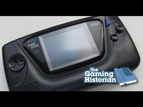 Sega - http://www.thegaminghistorian.com - In 1991, SEGA released the Game Gear to keep up with Nintendo in the video game market. Although it eventually succumbed ...