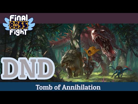 Video thumbnail for Dungeons and Dragons – Tomb of Annihilation – Episode 112