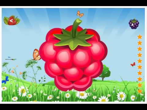 Video of Fruits vegetables. Coloring