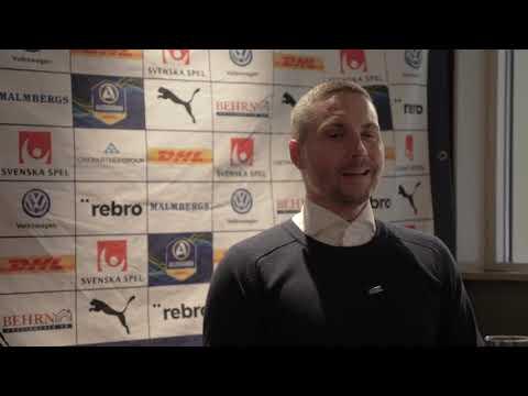 Presskonferensen efter ÖSK-Östersunds FK