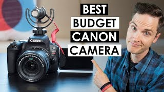 Video Best Budget Canon Camera — Canon SL2 Review and Video Test MP3, 3GP, MP4, WEBM, AVI, FLV Juli 2018
