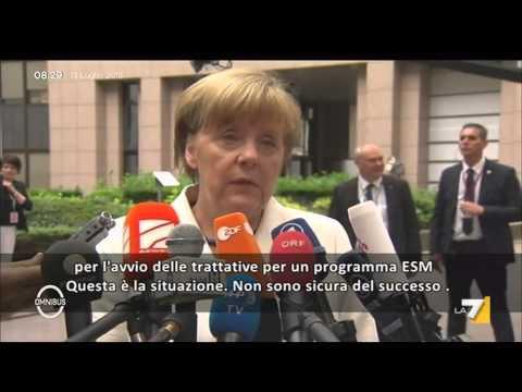 crisi in grecia: le parole dei protagonisti!