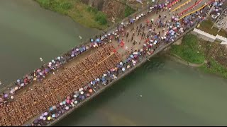 China applies to Guiness Book of Records for the longest dragon boat