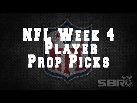 Free NFL Picks for Week 4 Player Props