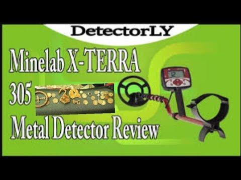 MINELAB XTERRA 305 METAL DETECTOR  REVIEW IN HINDI