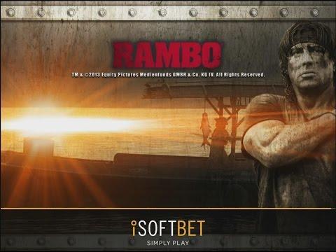 Rambo kolikkopeli | KAIKKI TOIMINNOT + ISO VOITTO | iSoftbet