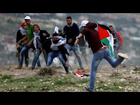Μ.Ανατολή: Συγκρούσεις Παλαιστινίων Ισραηλινών κατά την ημέρα της γης