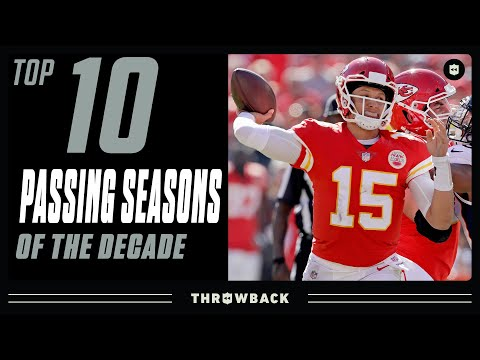 Top 10 Passing Seasons of the 2010's!
