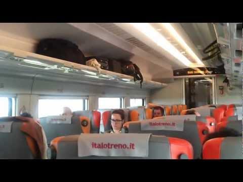 italo treno, viaggio a 300Km/h sulla linea Milano-Roma