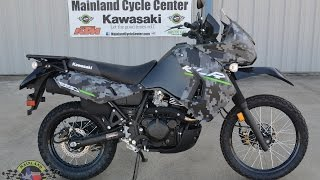 2. $6,899:  2016 Kawasaki KLR650 Matrix Camo Gray Overview and Review