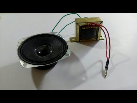 Experiment | Audio Amplifier using transformer