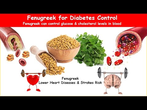 Diabetes Herbal Fenugreek; Lower BS, A1C & Cholesterol