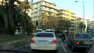 Le Cannet France  City new picture : Driving through Le Cannet
