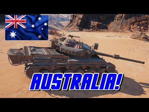 World of Tanks - Australia!
