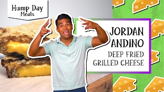 Deep Fried Grilled Cheese l Hump Day Meals-Jordan Andino by Tastemade