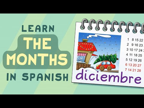 name of the year - http://CalicoSpanish.com Copyright 2012. Kids Immersion, LLC This song teaches students the names of the months of the year. Clear visuals and vocals ensure ...