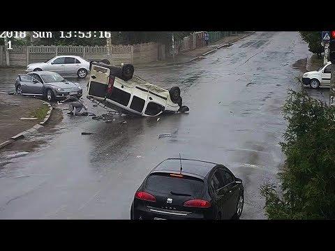 Авария с переворотом в Коломыи